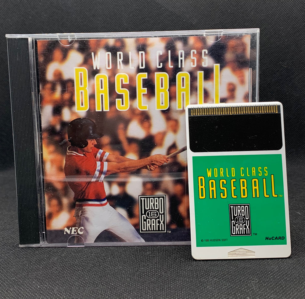 Turbo Grafx 16 - World Class Baseball