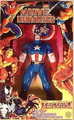 "Marvel Universe 10"" Captain America"