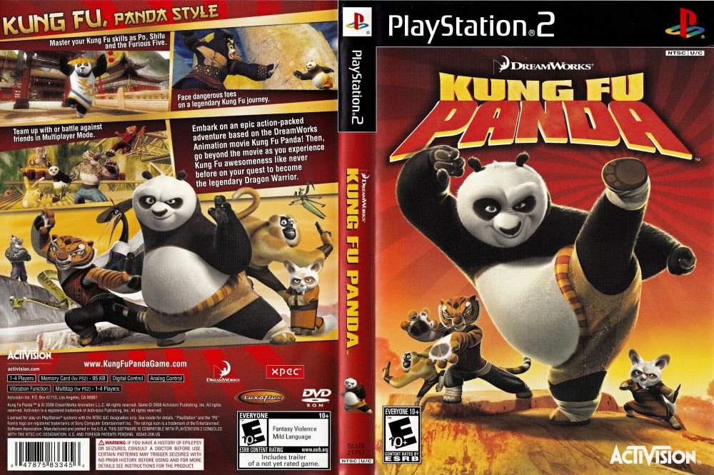 Playstation 2 - Kung Fu Panda