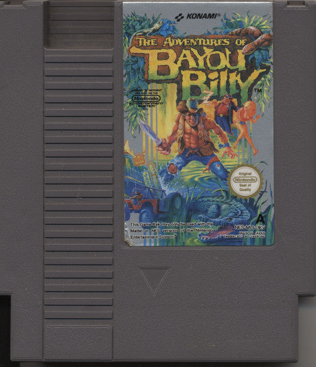 NES - The Adventures of Bayou Billy
