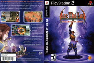 Playstation 2 - Arc the Lad Twilight of the Spirits