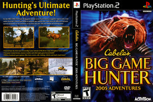 Playstation 2 - Cabela's Big Game Hunter 2005 Adventures