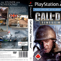 Playstation 2 - Call Of Duty Finest Hour