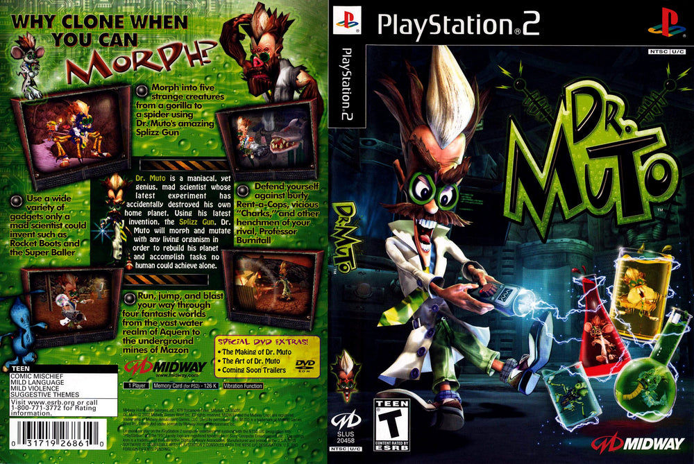 Playstation 2 - Dr. Muto