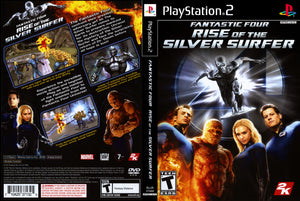 Playstation 2 - Fantastic Four Rise of the Silver Surfer