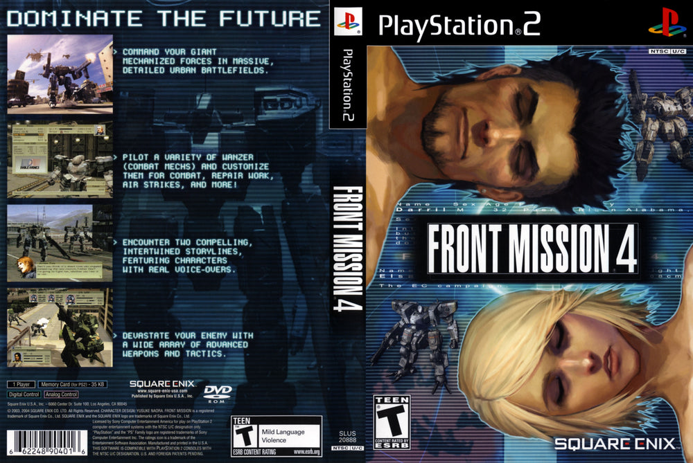 Playstation 2 - Front Mission 4