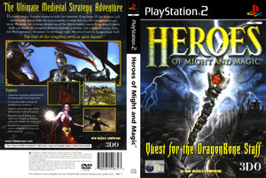 Playstation 2 - Heroes of Might and Magic