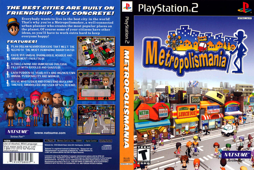 Playstation 2 - Metropolismania