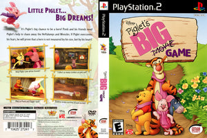 Playstation 2 - Piglet's Big Movie Game