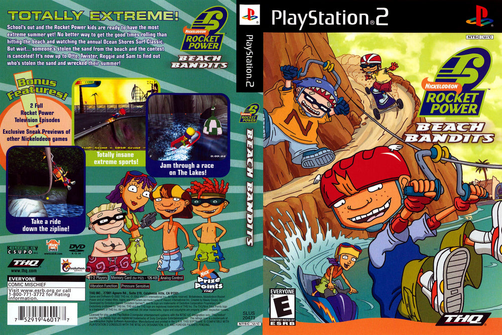 Playstation 2 - Rocket Power Beach Bandits