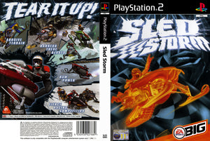 Playstation 2 - Sled Storm
