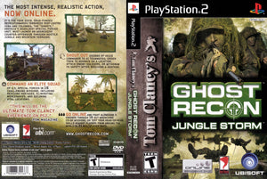 Playstation 2 - Ghost Recon Jungle Storm