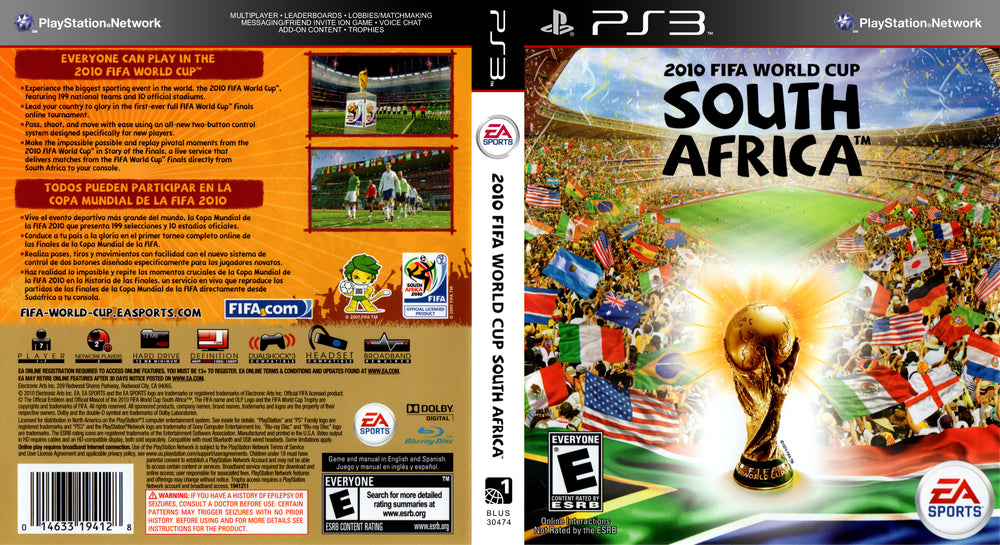 Playstation 3 - 2010 FIFA World Cup South Africa