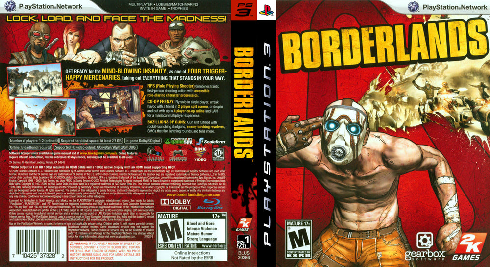 Playstation 3 - Borderlands