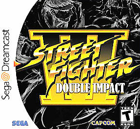 Dreamcast - Street Fighter 3 Double Impact