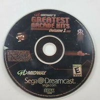 Dreamcast - Midway's Greatest Arcade Hits Volume 1