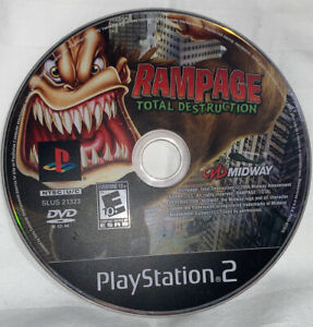 Playstation 2 - Rampage Total Destruction