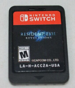 SWITCH - Resident Evil Revelations