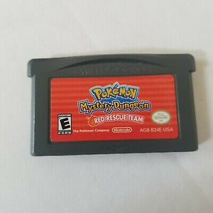 GBA - Pokemon Mystery Dungeon: Red Rescue Team