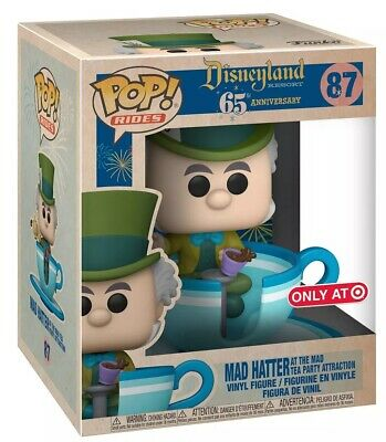 Funko POP! Mad Hatter (tea Party Attraction) #87