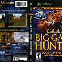 XBOX - Cabela's Big Game Hunter 2005 Adventures
