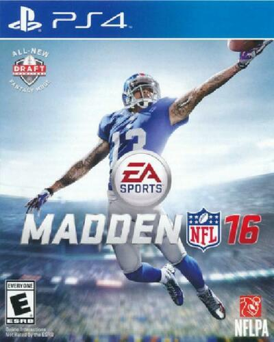 PS4 - MADDEN NFL 16
