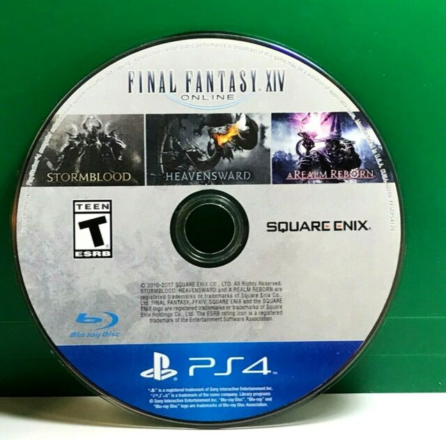 PS4 - Final Fantasy XIV Online Complete
