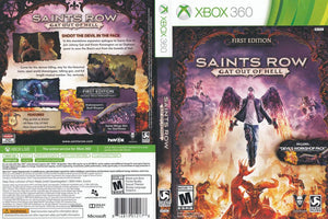 Xbox 360 - Saints Row Gat Out of Hell