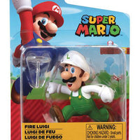 World of Nintendo Figure: Fire Luigi