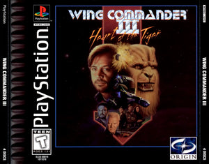 PLAYSTATION - Wing Commander 3 Heart of the Tiger