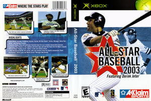 XBOX - All Star Baseball 2003