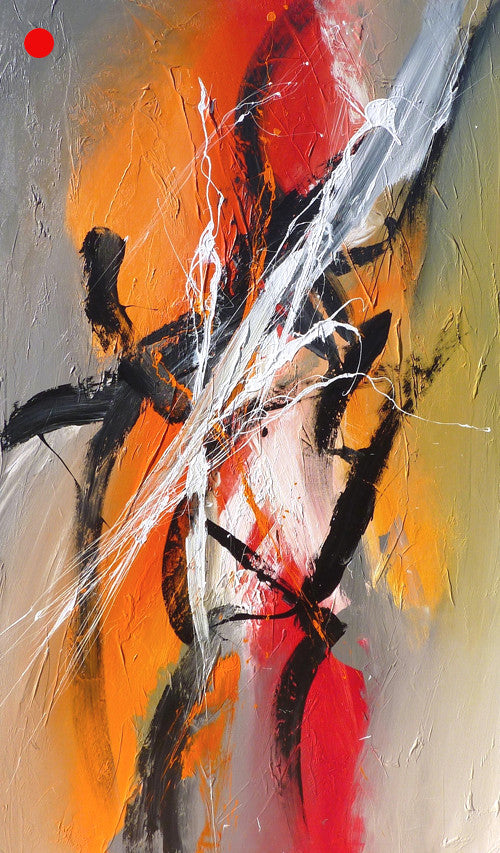 Higher 60x30 po/in Painting - Unique Abstract Art by Pierre Bellemare