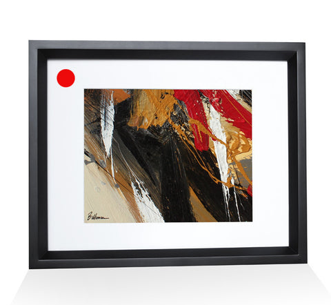 fire0021 Painting - Unique Abstract Art by Pierre Bellemare