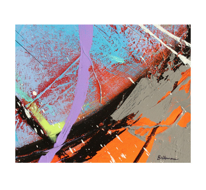 colors0017 Painting - Unique Abstract Art by Pierre Bellemare