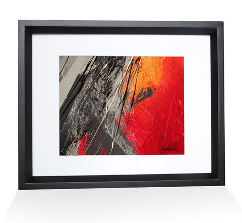 fire0015 Painting - Unique Abstract Art by Pierre Bellemare
