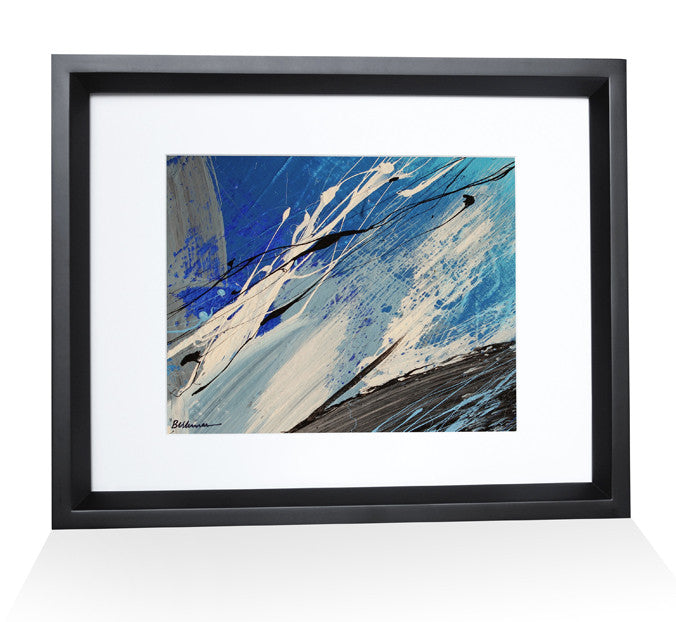 ocean0013 Painting - Unique Abstract Art by Pierre Bellemare