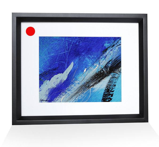 grand ocean 0014 Painting - Unique Abstract Art by Pierre Bellemare