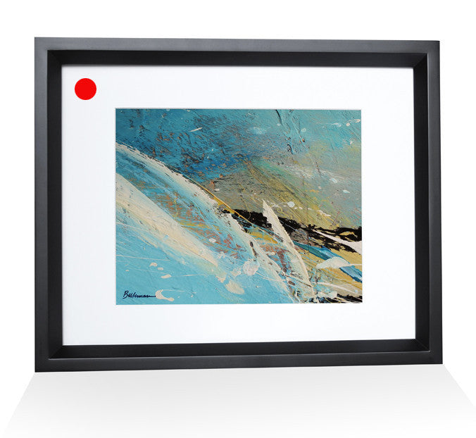 ocean0015 Painting - Unique Abstract Art by Pierre Bellemare