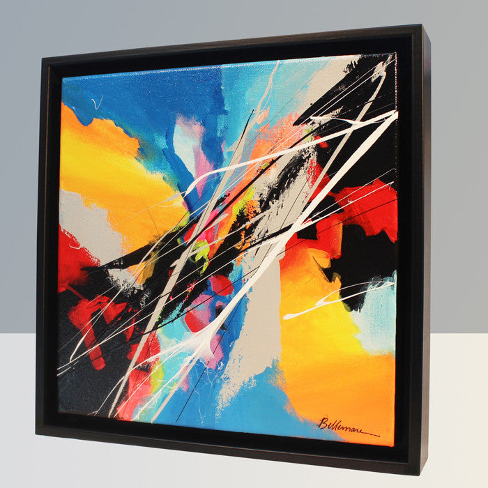 Joya 53 Painting - Unique Abstract Art by Pierre Bellemare