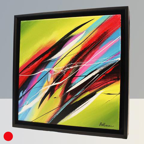 Joya 62 Painting - Unique Abstract Art by Pierre Bellemare