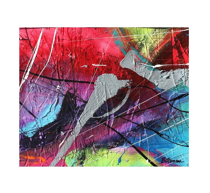 unitedcolors13 Painting - Unique Abstract Art by Pierre Bellemare