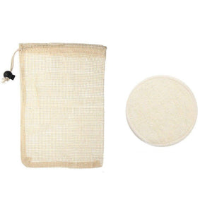 Reusable Bamboo & Cotton Pads