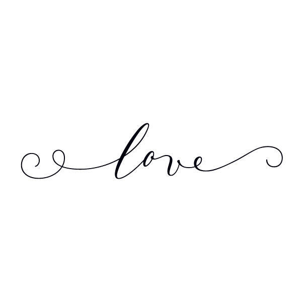 Tattly Temporary Tattoos - love (set of 2)