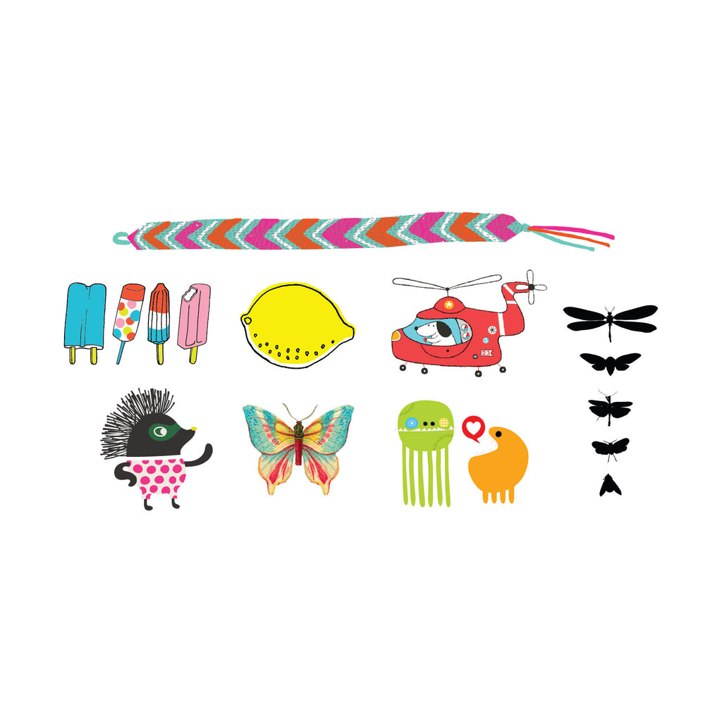 Tattly Temporary Tattoos - Set #3
