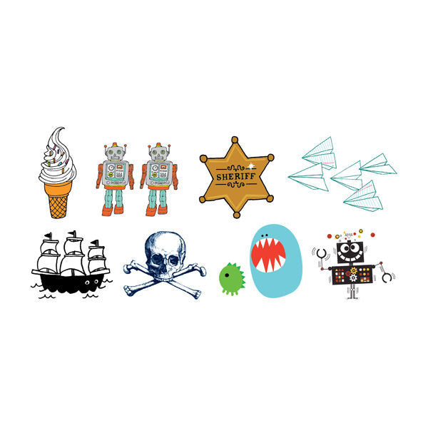 Tattly Temporary Tattoos - Set #1