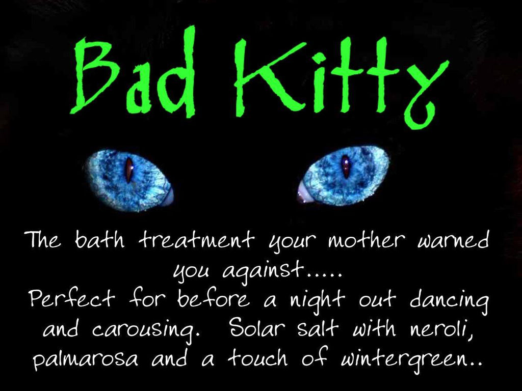 Fiveblueheron Aromatherapeutic Solar Bath Salts - Bad Kitty