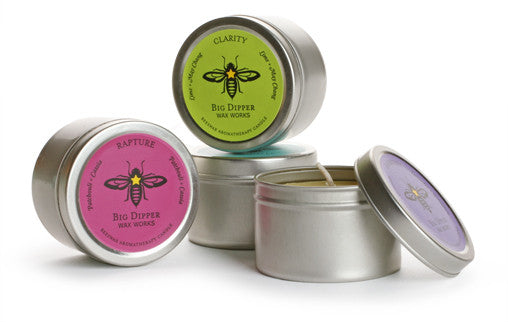 Big Dipper Wax Works - Pure Beeswax Aromatherapy Tins