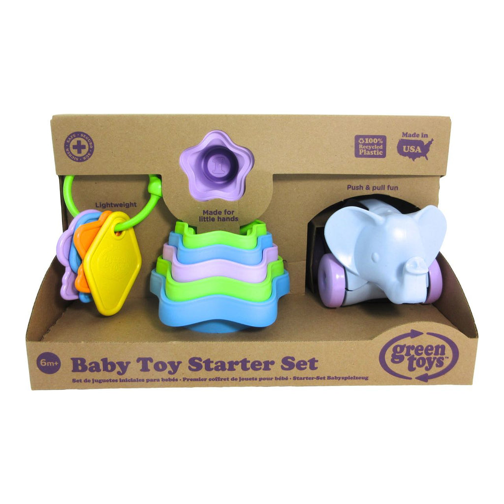 Green Toys - Baby Toy Starter Set