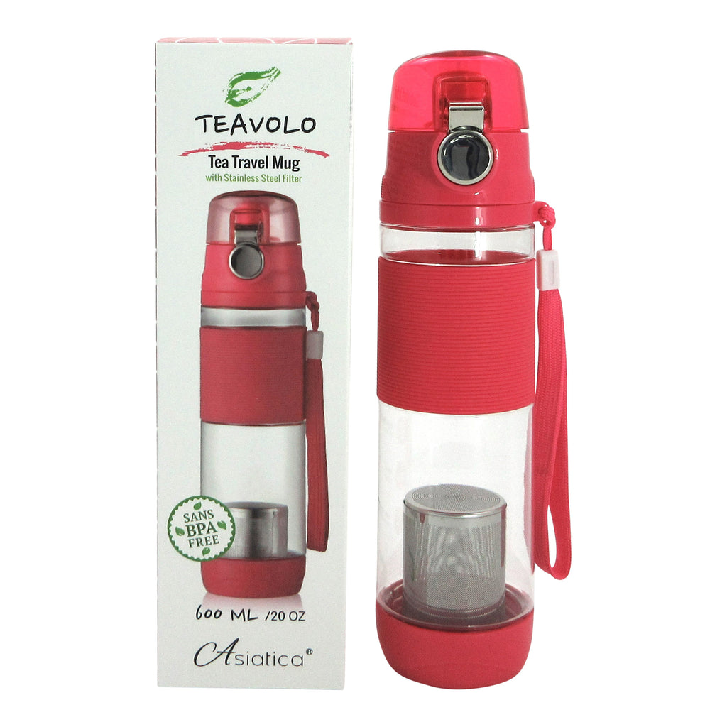 Teavolo - Tea Travel Mug (in 3 colors)