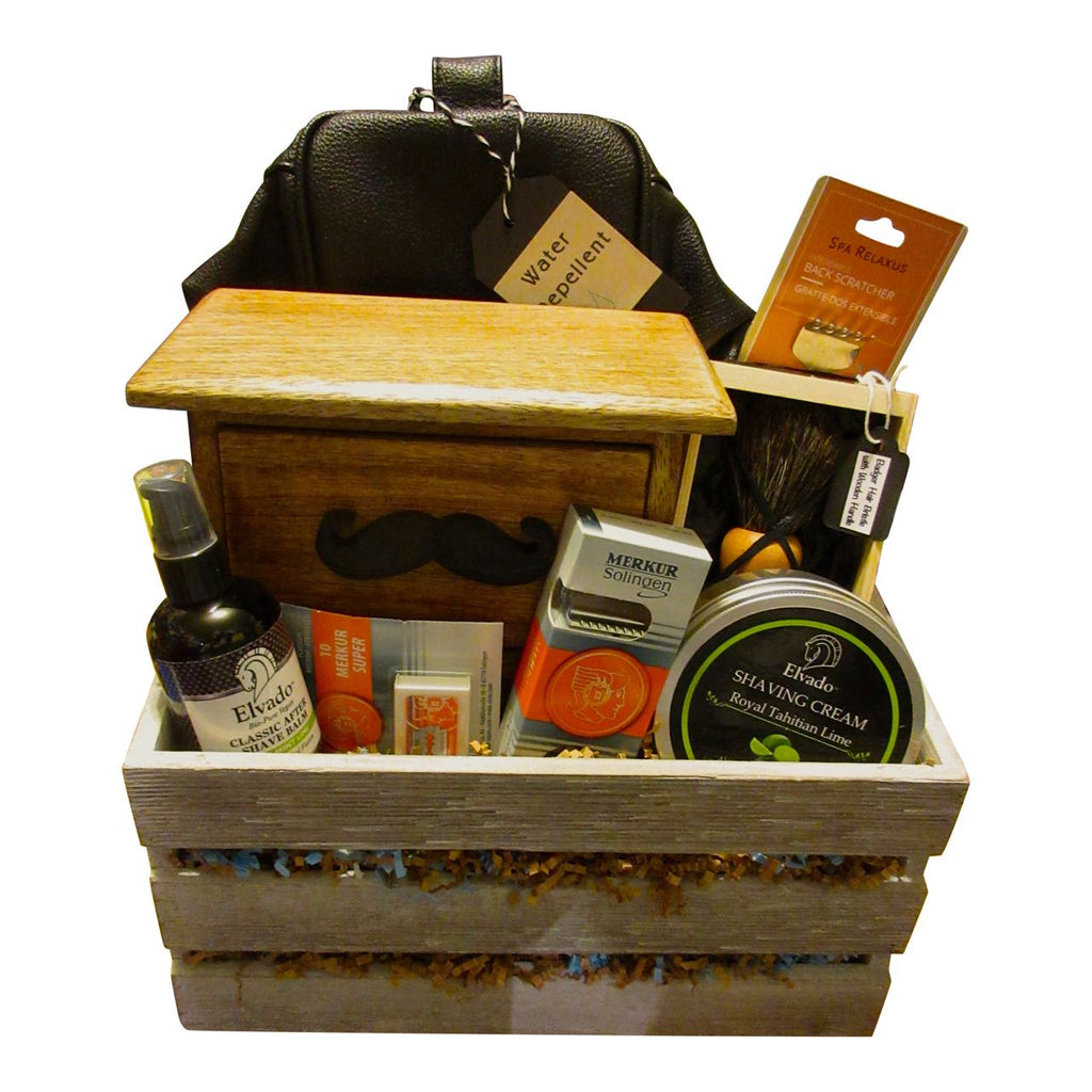 Men's Shaving Basket